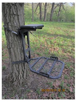 Chippewa Quest Lightweight Aluminum Tree Stand