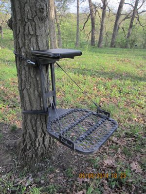Chippewa Wedge-Loc Lightweight Aluminum Tree Stand